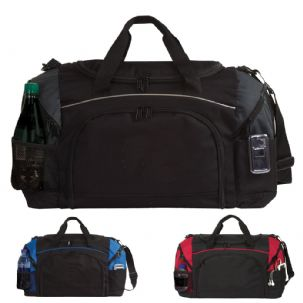 Sports Holdall with Coloured Trim